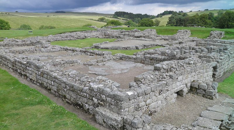 THE ROMAN FORT OF VINDOLANDA